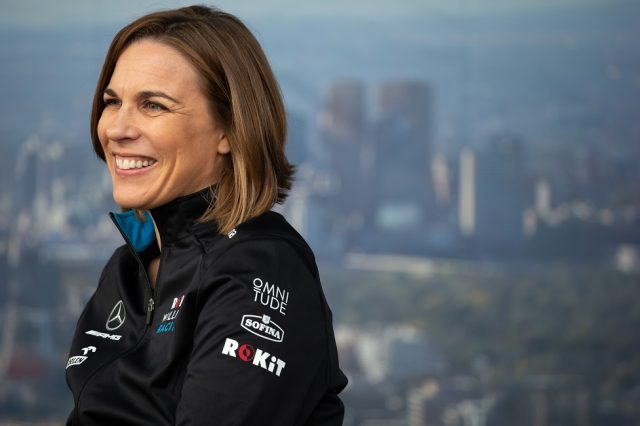 Brundle thinks Claire Williams should step aside