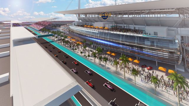 Miami working through F1 race 'issues'