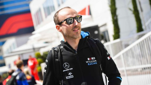 Five Friday practice sessions for Kubica in 2020